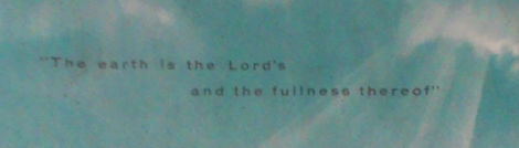 Stewardship Bulletin 1957 Earth is the Lord's