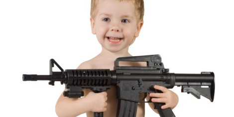 Baby and Gun