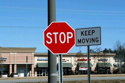oxymoron stop sign