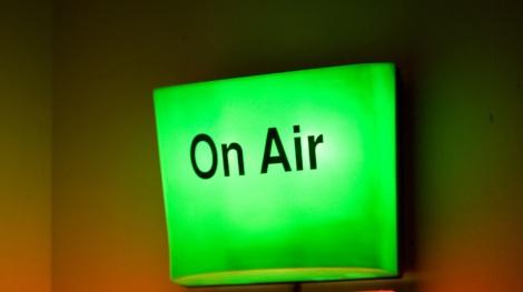talkSPORT radio studios, London, Britain - 18 May 2011